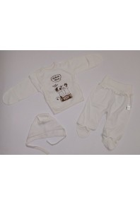 комплект 3-ка для новорожденных 11