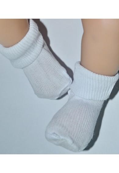 носочки белые для новорожденных (тонкие)