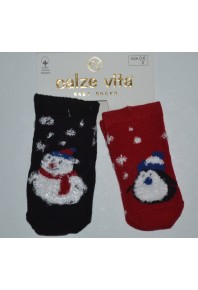 Детские новогодние носочки