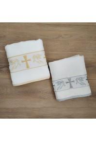 махровое полотенце - крыжмо для хрещения 100% хлопок