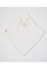Полотенце-крыжмо с капюшоном