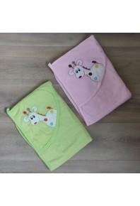 полотенце для купания с капюшоном