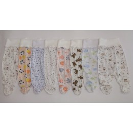 евро ползунки с наружными швами для новорожденных