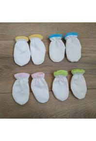 Рукавички-нецарапки для новорожденных 100% хлопок