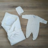 Конверт-одеялко + комплект нарядный