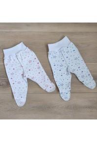 """ползунки на широкой резинке с наружными швами """"звездочки"""" для новорожденных"""