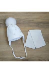 Шапочка с шарфиком 1024 grans Польша